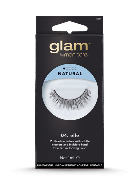 Glam by Manicare - 04. Elle Natural Lashes