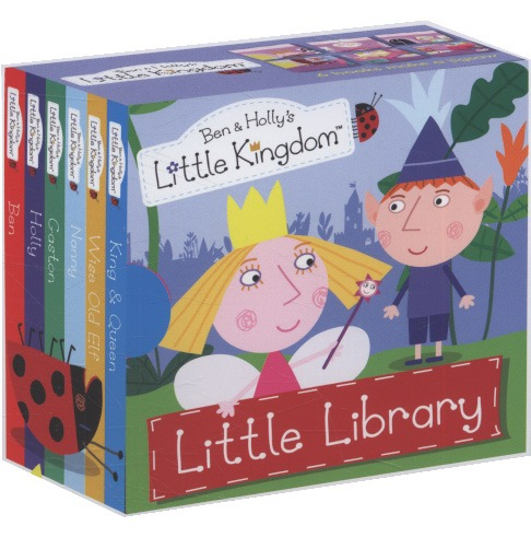 Ben and Holly's Little Kingdom: Little Library by Ladybird image