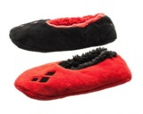 DC Comics: Harley Quinn Fuzzy Slippers (SM/M)