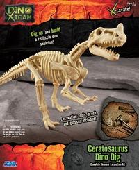 Smithsonian: X-Team Dino Digs - Ceratosaurus image