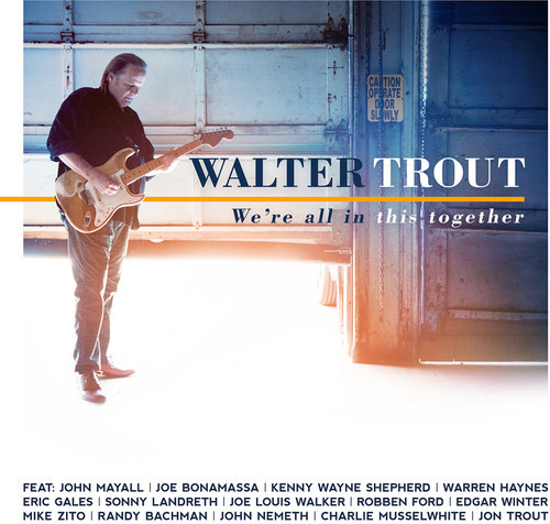 We're All In This Together by Walter Trout image