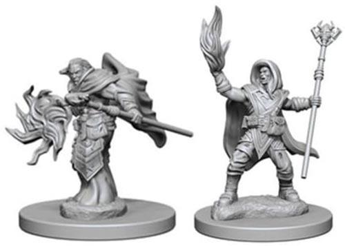 D&D Nolzur's Marvelous: Unpainted Minis - Elf Male Wizard image