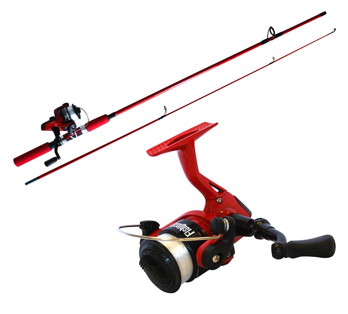 Fishtech Kids Spin Rod/Reel Fishing Combo image