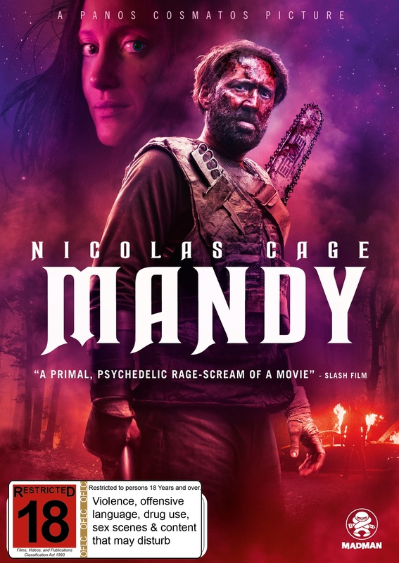 Mandy on DVD