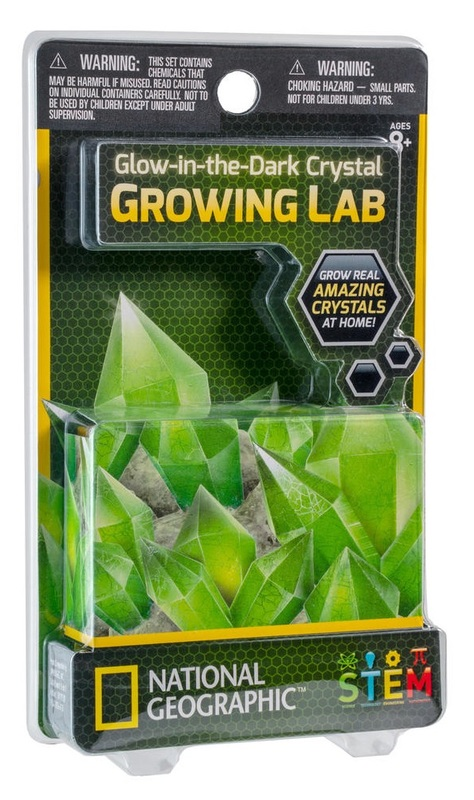 National Geographic: Mini Crystal Growing Lab - Glow