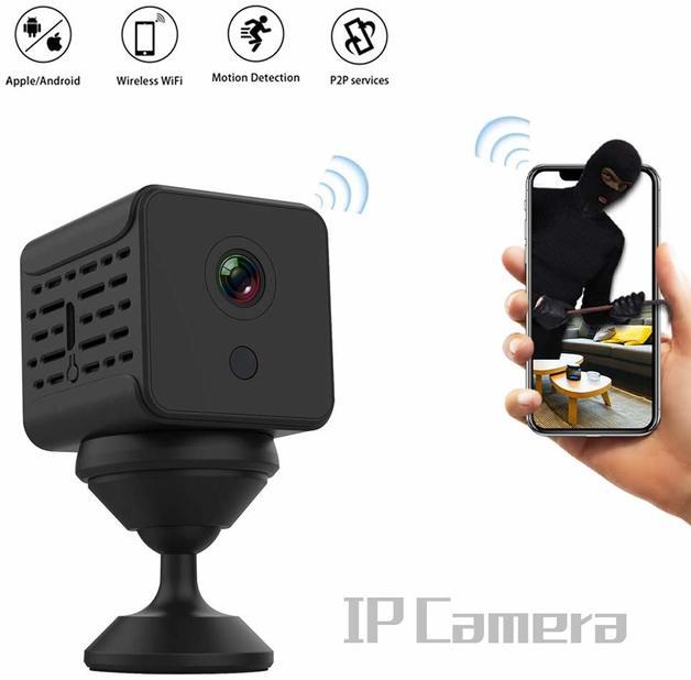 Mini Video Camera WiFi HD 1080P Sensor Home Security Camera