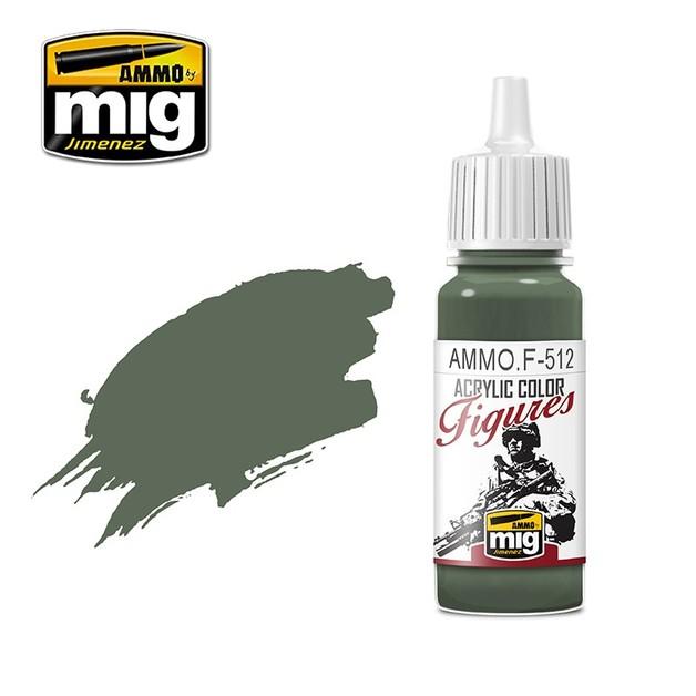 Ammo of Mig Jimenez Figure Paint: Field Grey FS-34159 (17ml)