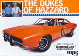 "MPC 1969 Dodge Charger ""General Lee"" 1/16 Model Kit"