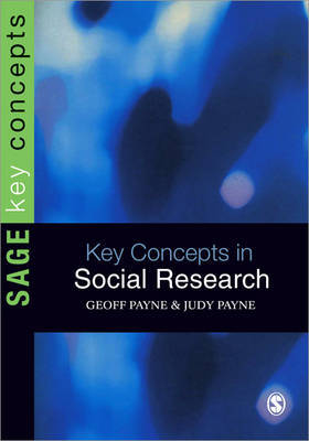 Key Concepts in Social Research by Geoff Payne image