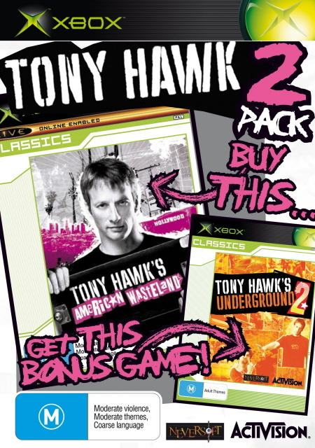 Tony Hawk's Underground 2 + American Wasteland Classics Double Pack for Xbox
