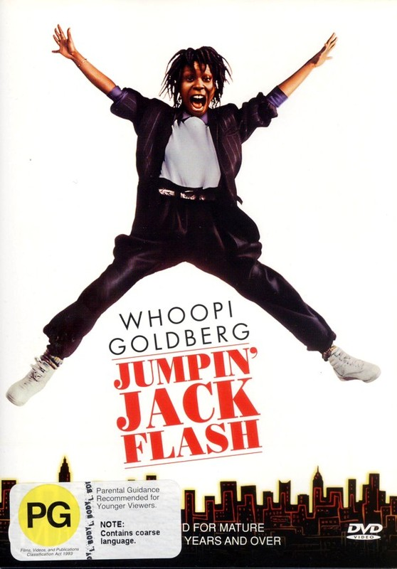 Jumpin' Jack Flash on DVD
