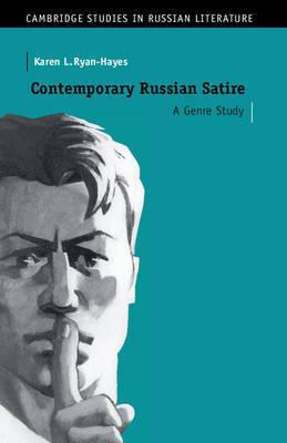 Cambridge Studies in Russian Literature by Karen L. Ryan-Hayes