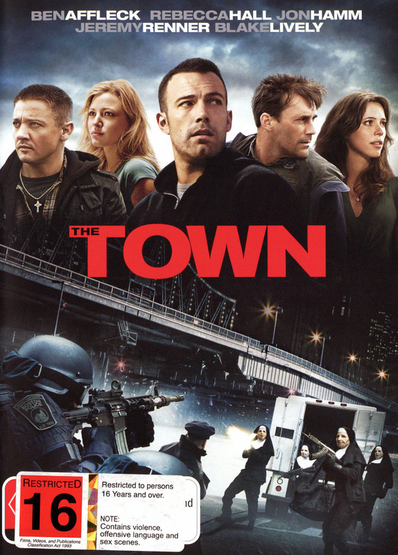 The Town on DVD