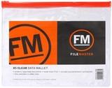 FM PVC Data Wallet A5 (Clear)