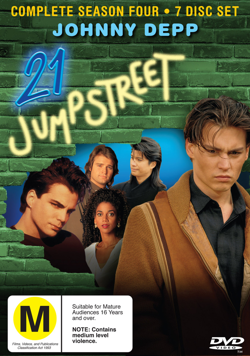 21 Jump Street - Complete Season 4 (7 Disc Set) on DVD image