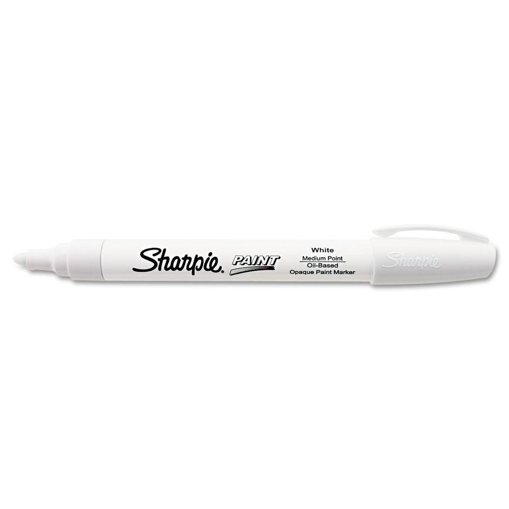 Sharpie Oil-Based Paint Marker - Medium (White) image