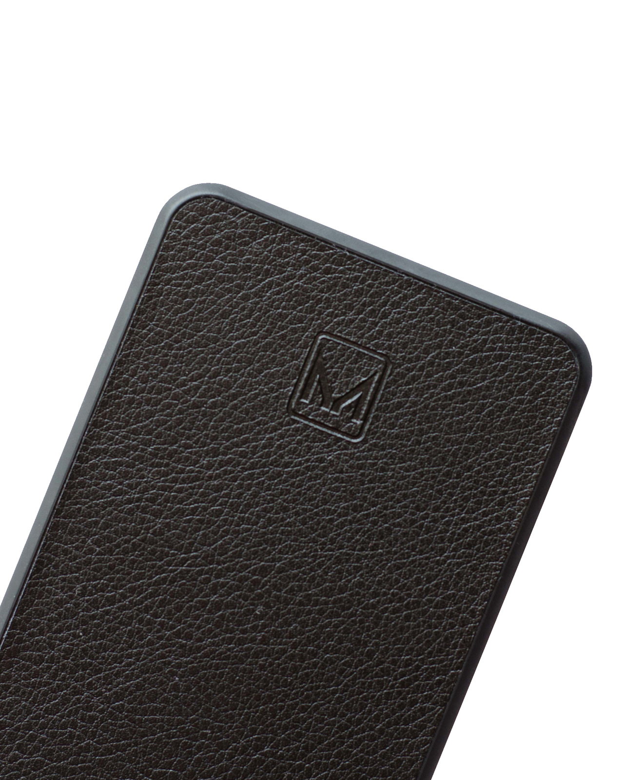 Moyork WATT 6000 mAh Leather Power Bank - Raven Black image