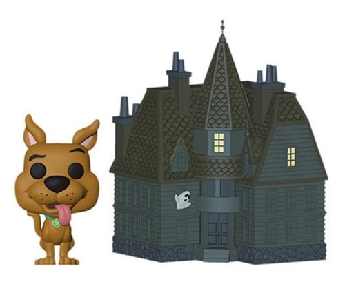 Scooby Doo & Haunted Mansion - Pop! Town Diorama Set