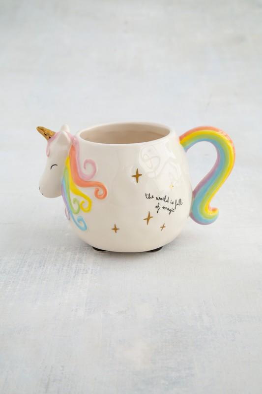 Natural Life: Mug - Folk Unicorn