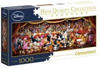Clementoni: 1,000-Piece Puzzle - Disney Orchestra Panorama