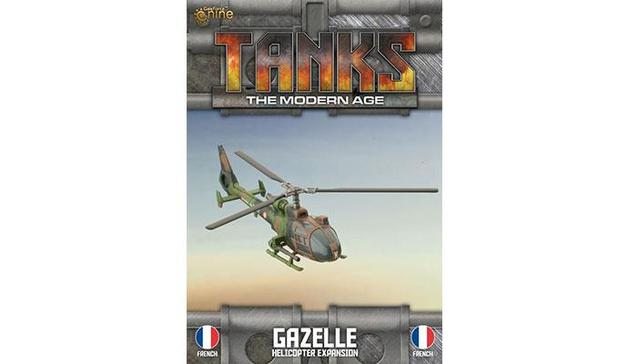 TANKS Modern French Gazelle Helicopter