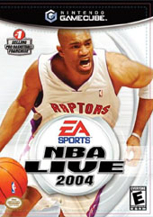 NBA Live 2004 for GameCube