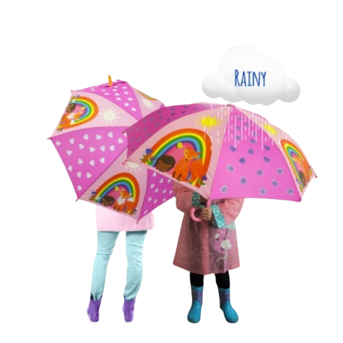 Kids Umbrella Forest Friends