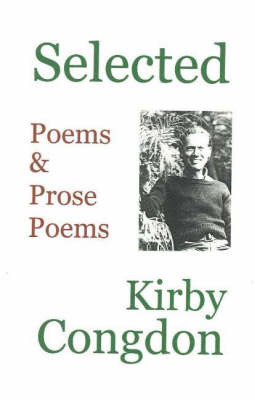 Selected Poems & Prose Poems by Kirby Congdon image
