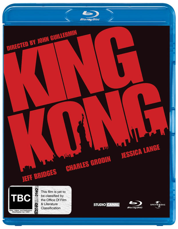 King Kong (1976) on Blu-ray