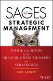 Sages of Strategic Management by Paul Barnett