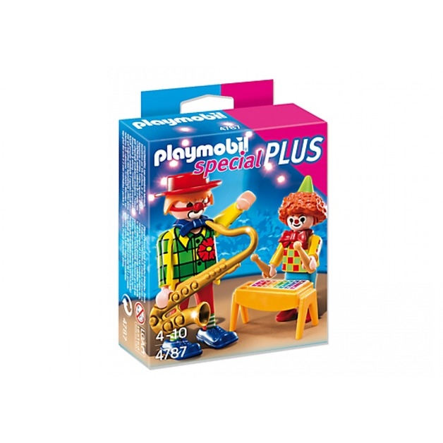 Playmobil: Special Plus - Musical Clowns (4787)