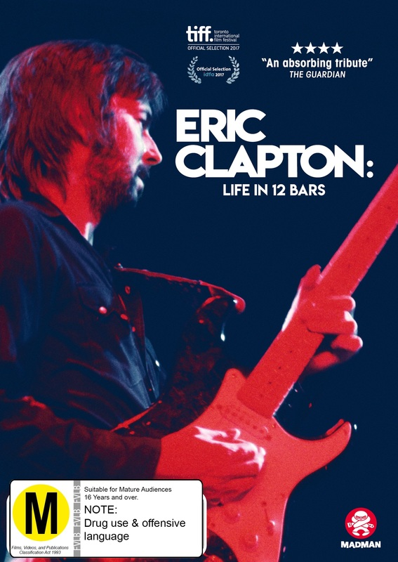 Eric Clapton: Life In 12 Bars on DVD