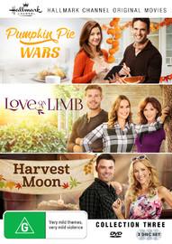 Hallmark Collection Three: Pumpkin Pie Wars, Love On A Limb, Harvest Moon on DVD