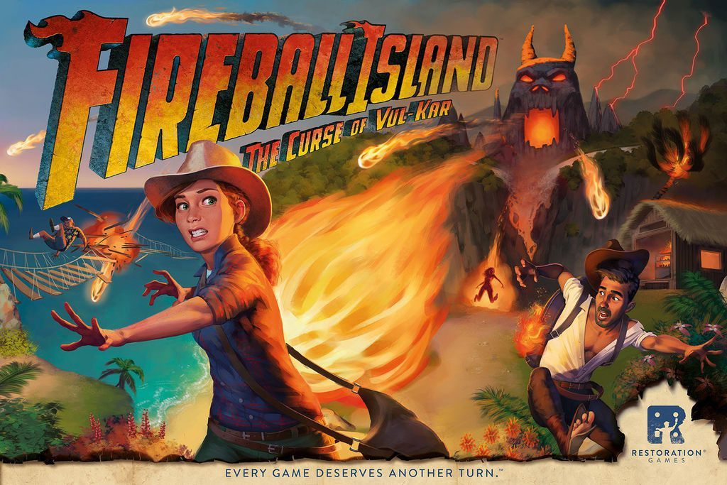Fireball Island: The Curse of Vul-Kar | Toy | at Mighty Ape NZ