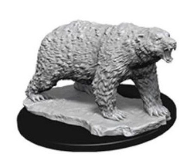 WizKids Deep Cuts: Unpainted Miniatures - Polar Bear