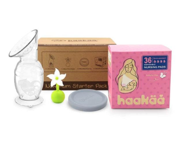 Haakaa: New Mum Starter Pack - White Stopper (Generation 2 150ml Pump)