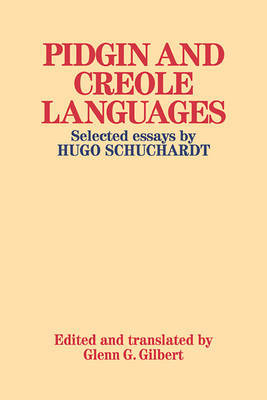 Pidgin and Creole Languages by Hugo Schuchardt image