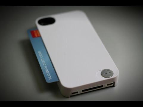 SwitchEasy iPhone Card Case - White image