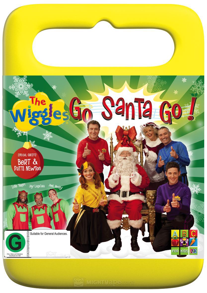 The Wiggles: Go Santa Go DVD image