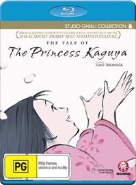 The Tale Of The Princess Kaguya on Blu-ray image