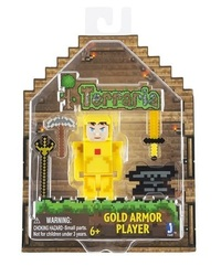 Terraria - Gold Armour Player Action Figure