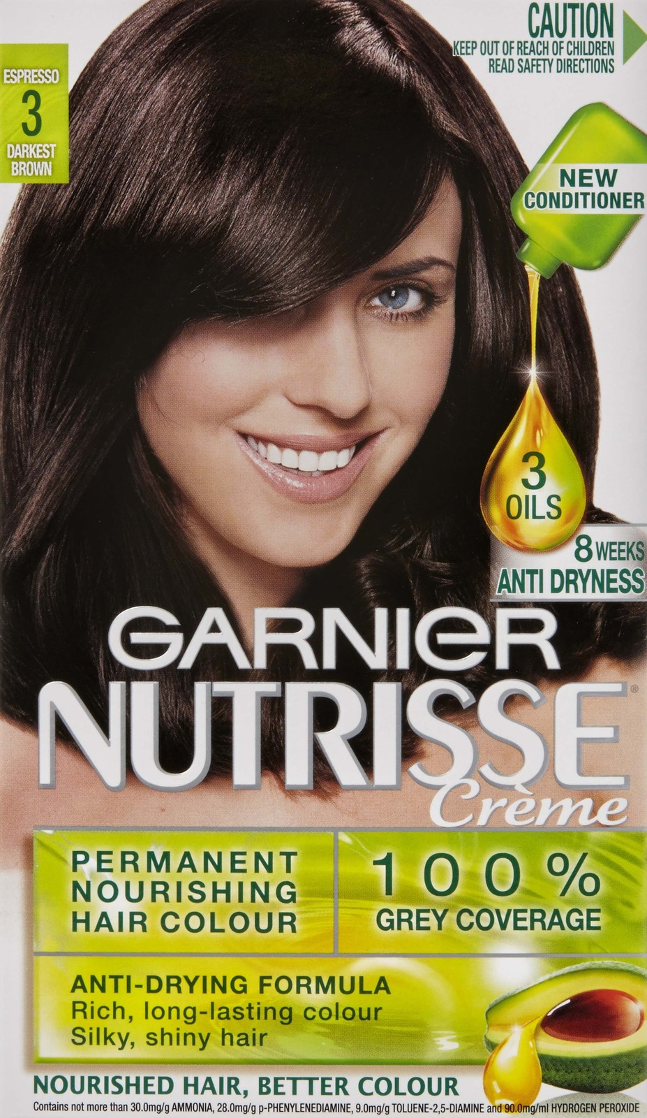 Buy Garnier Nutrisse Hair Colour 30 Espresso At Mighty Ape Nz