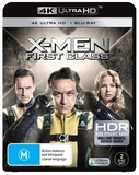 X-men: First Class on Blu-ray, UHD Blu-ray