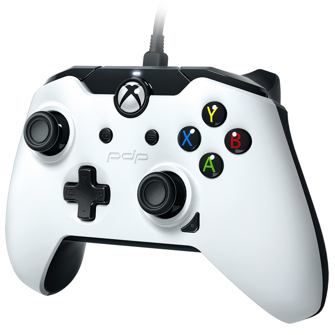PDP Wired Controller for Xbox One - White | Xbox One | In-Stock ...