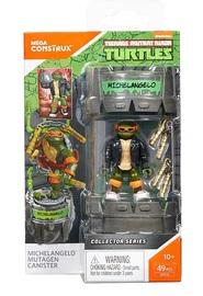 Mega Construx: TMNT Mutagen Canister - Michelangelo