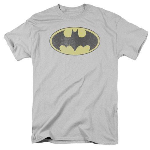 DC Comics: Retro Batman Logo - Distressed T-Shirt (XL)
