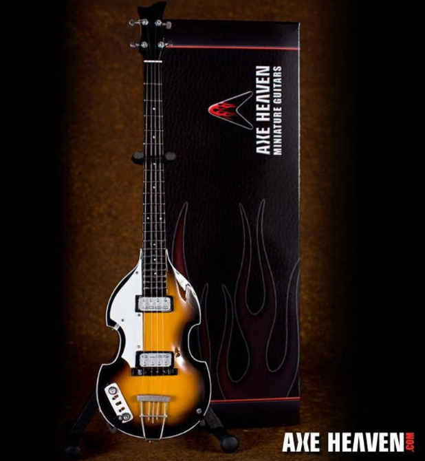 Axe Heaven: Miniature Replica - Paul McCartney Violin Bass Guitar (Fab Four)
