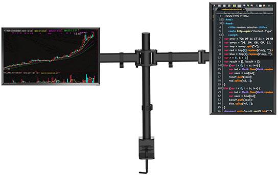 Gorilla Arms: Dual Monitor Mount image