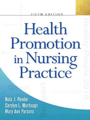 Health Promotion in Nursing Practice by Carolyn Murdaugh image