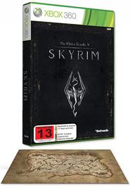 The Elder Scrolls V: Skyrim + Premium Map! for X360